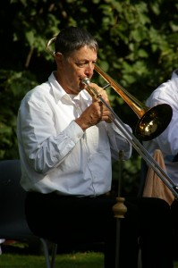 Dr Thompson on Trombone